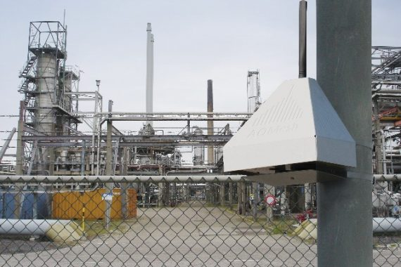 Aqmesh at a Refinery