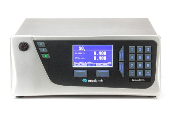 Eignugnsgeprüfter Schwefeloxid Analysator SO2 Serinus 50 Ecotech
