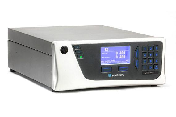 Eignugnsgeprüfter Schwefeloxidanalysator SO2 Serinus 50 Ecotech