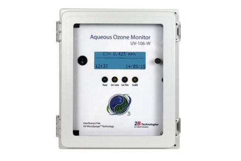 """Ozon in Wasser""-Monitor Modell UV-106-W"