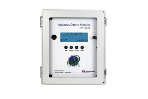 "JANUAR 2018 – Neue Technologie ""Ozon in Wasser""-Monitor UV-106-W"