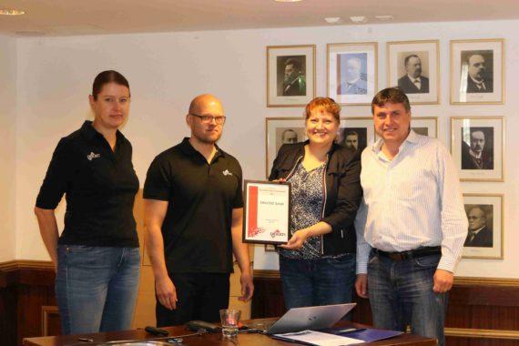 Juni 2018 – ENVILYSE erhält den Dekati Sales Award im zweiten Jahr in Folge